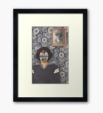 Mirrored on Wall Framed Print