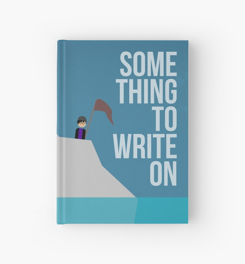 Something to Write On (premium notebook) by nearlycomplete