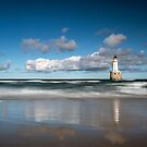 Rattray Head Lighthouse by Roddy Atkinson