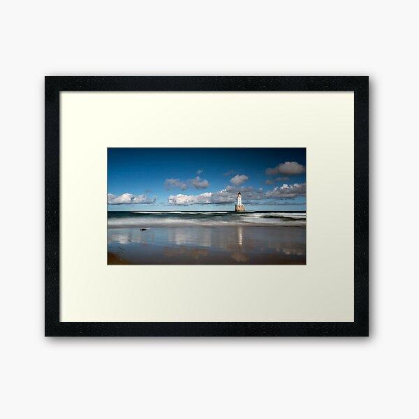 Rattray Head Lighthouse Framed Art Print