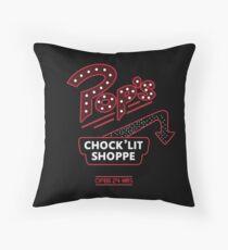 Riverdale - Pop's Chock'lit Shoppe Throw Pillow