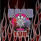 Darts: Good And Evil by mydartshirts