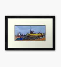 Pots and Dans Framed Print