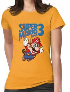 Super Mario Bros. 3 Womens Fitted T-Shirt