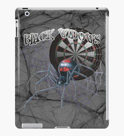 Black Widows Darts Shirt iPad Case/Skin
