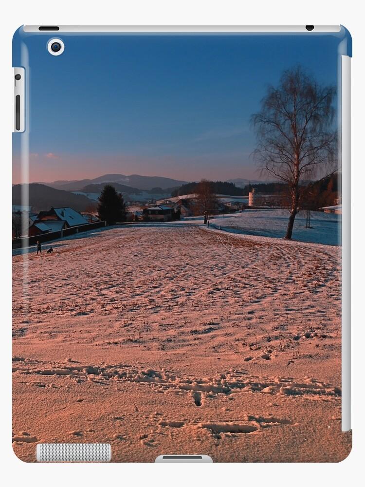 A winter wonderland sundown | landscape photography by Patrick Jobst