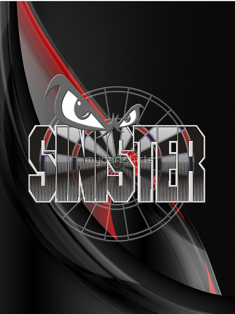 Sinister Darts Shirt by mydartshirts