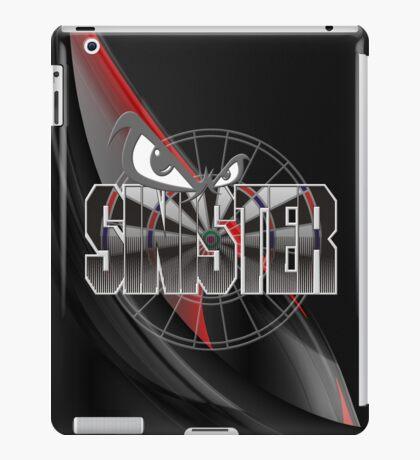 Sinister Darts Shirt iPad Case/Skin