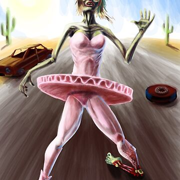 Zombie Ballerina by chrismoet