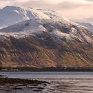 Ben Nevis and the Old Boat by derekbeattie