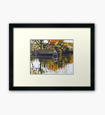 The Boat Shed Framed Print