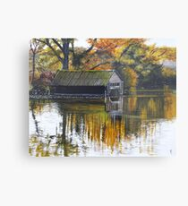 The Boat Shed Metal Print
