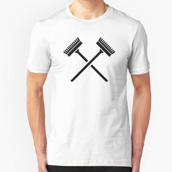 Crossed broom Slim Fit T-Shirt