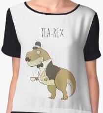 Tea-Rex  Women's Chiffon Top
