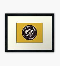 Hullywood Icons Logo Framed Print