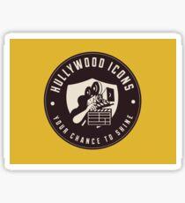Hullywood Icons Logo Sticker