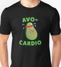Avo-Cardio Funny Avocado Fitness T-Shirt