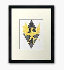 Akatosh Reborn as Martin Septim Framed Print