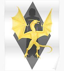 Akatosh Reborn as Martin Septim Poster