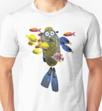 Scuba Pickle Funny Hawaii Shirt Unisex T-Shirt