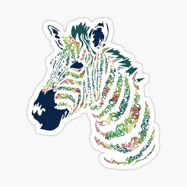 Collagen Zebra Sticker