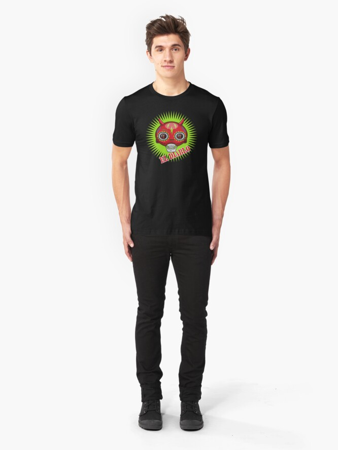 Alternate view of El Diablo Slim Fit T-Shirt
