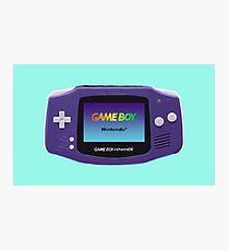 Game Boy Advance  Photographic Print