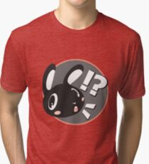 Rabbit Surprise: [!?] Tri-blend T-Shirt