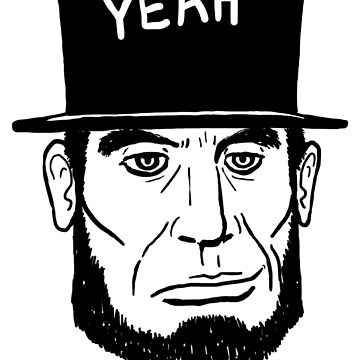 America F Yeah! (Abraham Lincoln Style) by onitees
