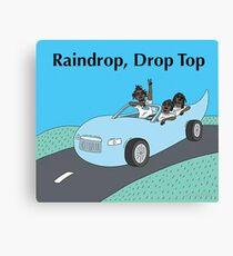 Migos - Raindrop, Drop Top Art Canvas Print