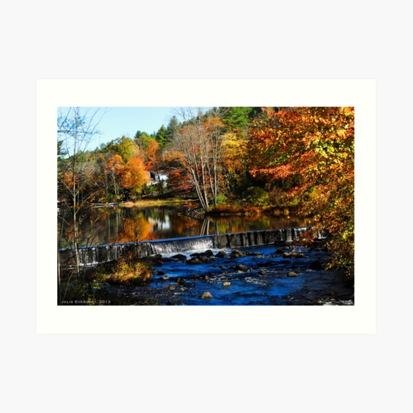 Taking The Scenic Route Art Print