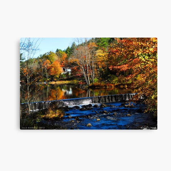 Taking The Scenic Route Canvas Print