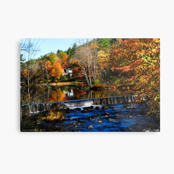 Taking The Scenic Route Metal Print