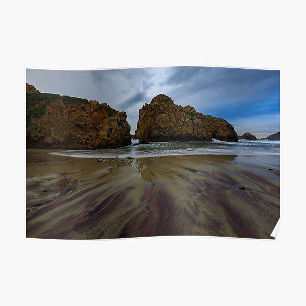 Pfifer Beach, BigSur California Poster