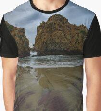 Pfifer Beach, BigSur California Graphic T-Shirt