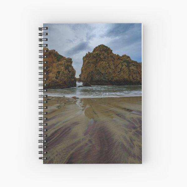 Pfifer Beach, BigSur California Spiral Notebook