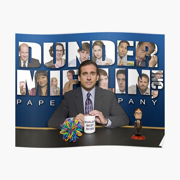 The office Michael Scott Poster