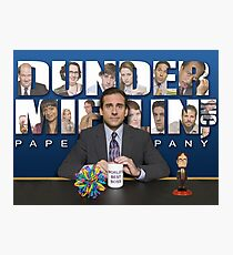 The office Michael Scott Photographic Print