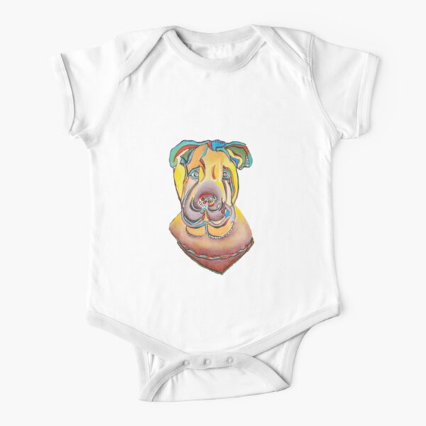 Where is the doggie Short Sleeve Baby One-Piece