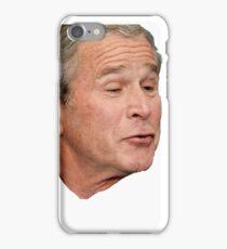 George W. Bush Face iPhone Case/Skin