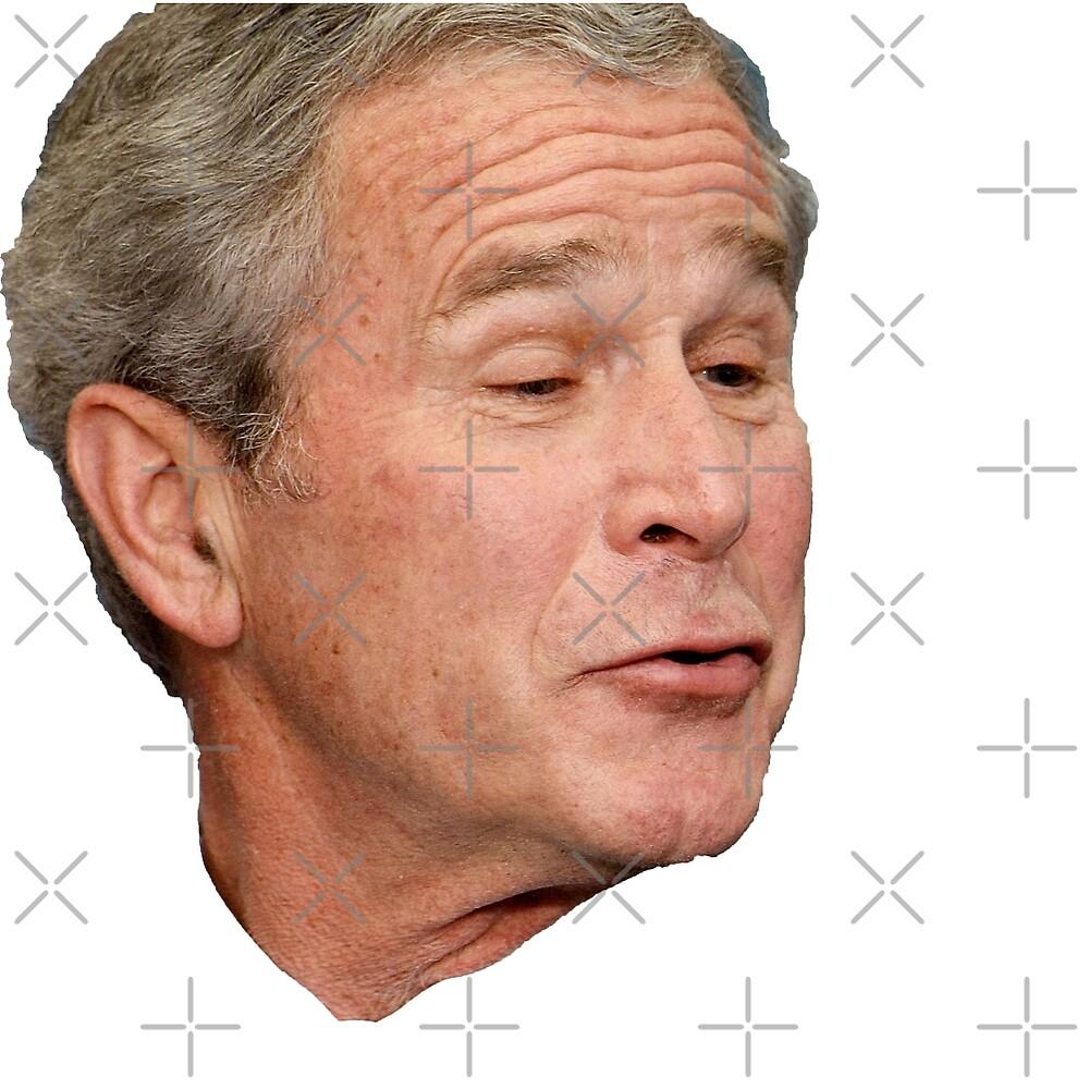 George W. Bush Face by Elliot-Four