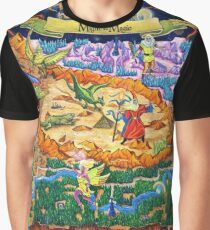 DarkSide of Xeen Map 2014 Graphic T-Shirt