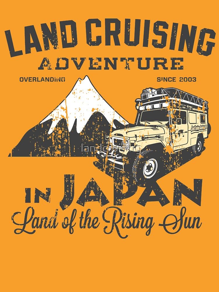 Landcruising Adventure in Japan - Straight font edition by landcruising