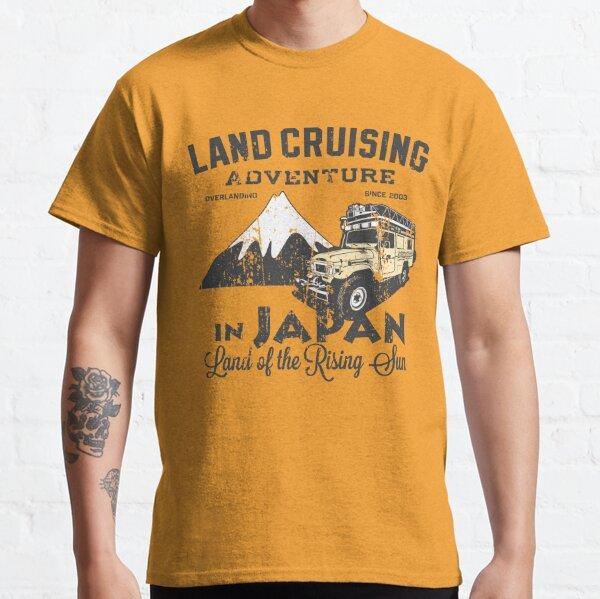 Landcruising Adventure in Japan - Straight font edition Classic T-Shirt