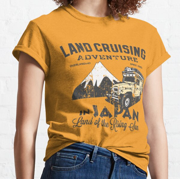 Landcruising Adventure in Japan - Straight font edition Classic T-Shirt