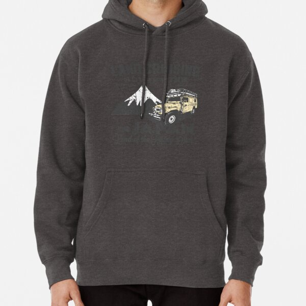 Landcruising Adventure in Japan - Straight font edition Pullover Hoodie