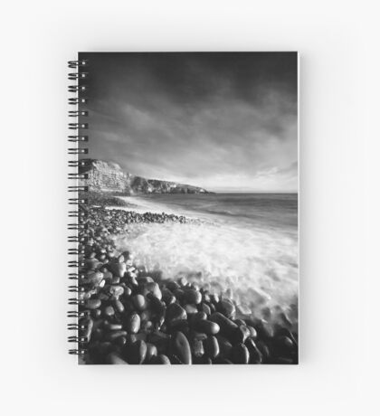 Spring Swell (Mono) Spiral Notebook