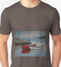Boats at Peggys Cove  Unisex T-Shirt