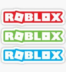 Roblox 2017 Logo stickers x3 [red/green/blue] Sticker