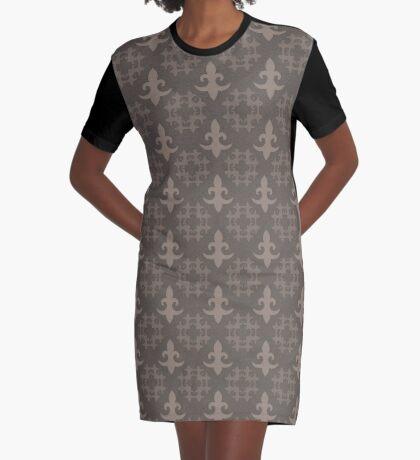 Fleur de Lis by Julie Everhart Graphic T-Shirt Dress